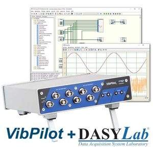 Datenlogger VibPilo+DASYLab Bundle - News